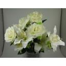 Le bouquet rose et lys